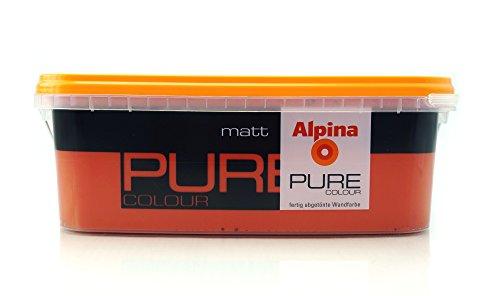 ALPINA Pure Colour, 2,5 L. Wandfarbe, Matt , Karmin, Erdberrot