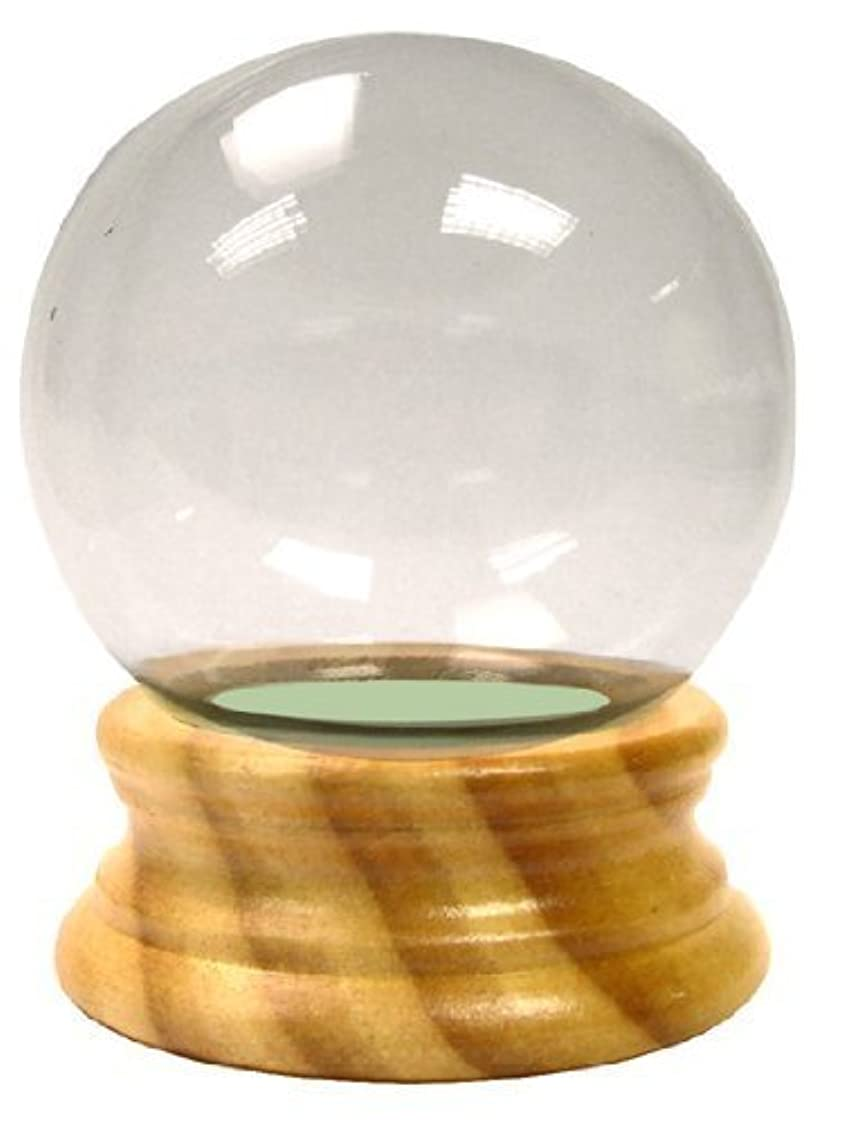 Snow Globe With Maple Finish Base Is A Fun Project For Do-It-Yourselfers by National Arcraft [並行輸入品]