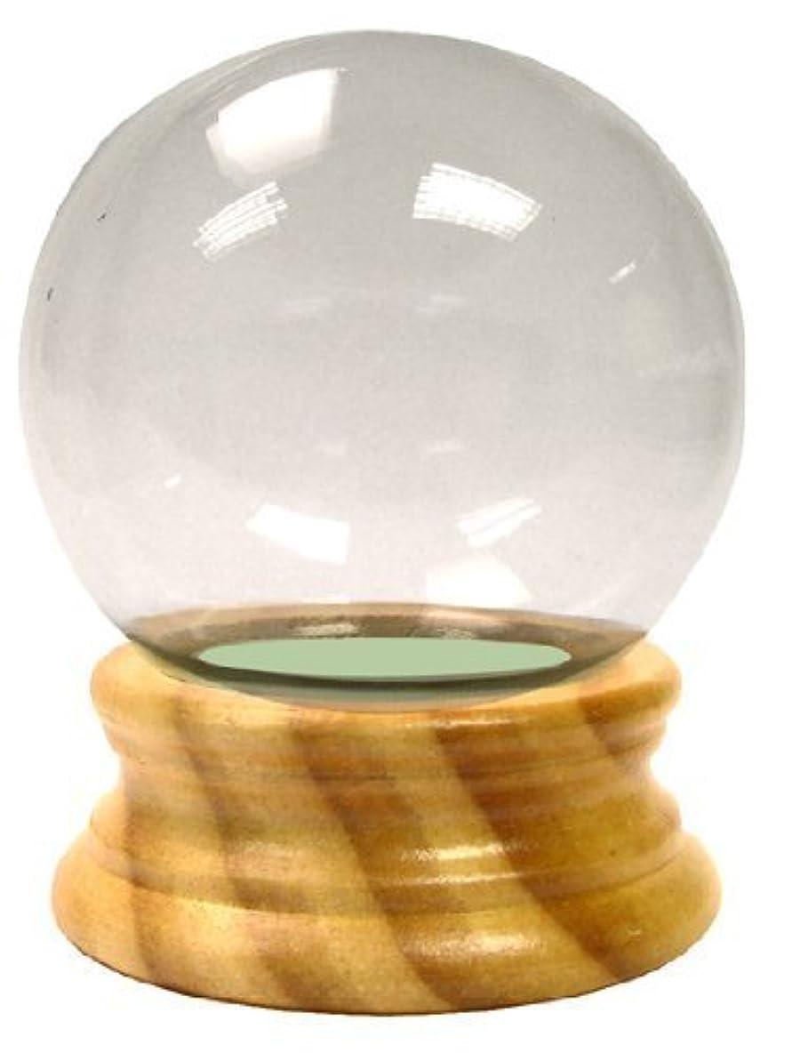 薄汚いデザート飼いならすSnow Globe With Maple Finish Base Is A Fun Project For Do-It-Yourselfers by National Arcraft [並行輸入品]