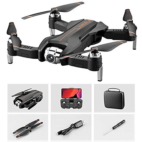 DCLINA Drone GPS Pieghevole con Doppia Fotocamera, quadricottero RC 16 Milioni Pixel, luci Crociera notturne, Esperienza VR, riconoscimento Automatico