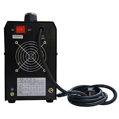 SUNGOLDPOWER CUT50 IGBT Plasma Schneider 50 Amp schneidet bis 15 mm Plasma CUT Inverter Schweißgerät Plasma Ausschnitt Maschine Plasmaschneider Cutting Cutter 230V - 3