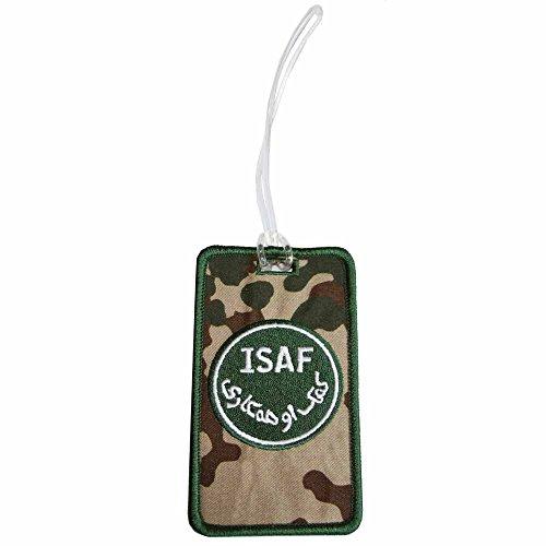 Kofferanhänger Bundeswehr ISAF -Tropen-