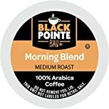Black Pointe Bay Coffee Light Roast 80 Single Serve Coffee Pods for Keurig K Cup Brewers 80, Morning Blend, 80 Count