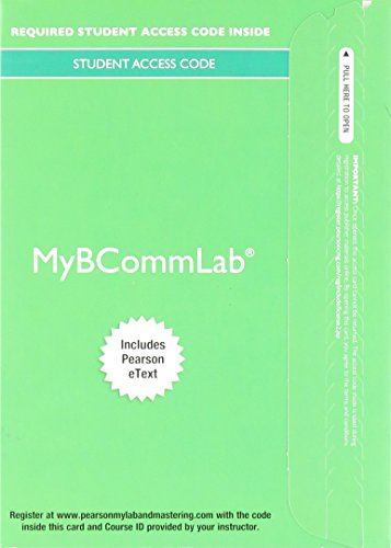 MyLab Business Communication with Pearson eText -- Access Card -- for Excellence in Business Communication