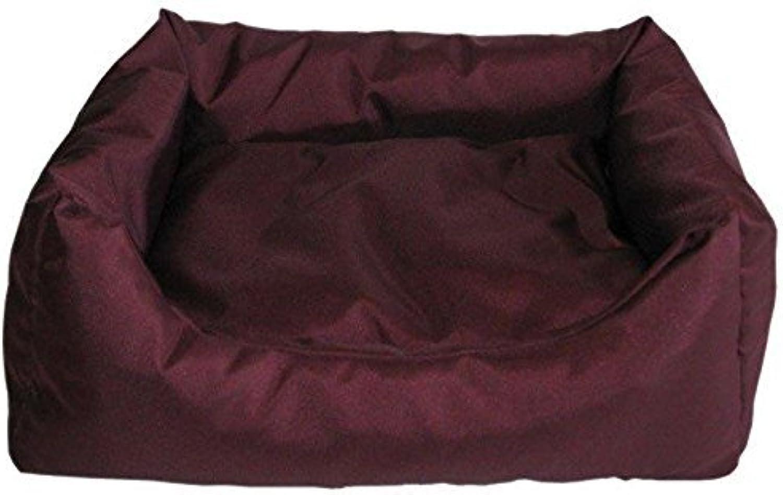 Best For Pets Orthopedic Dog Bed EASY Dog Cushion OrthoMEDIC VISCO CUSHION (L, Dark Red)