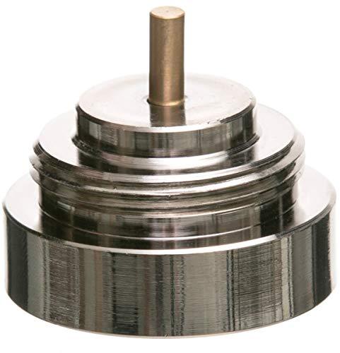 Eurotronic 700115 Rossweiner Metalladapter für elektronische Heizkörperthermostate, Metall