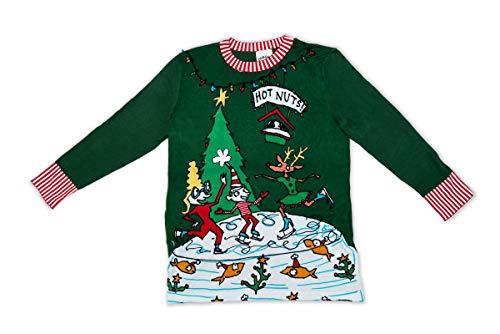 Hot Nuts Sweater Dark Green