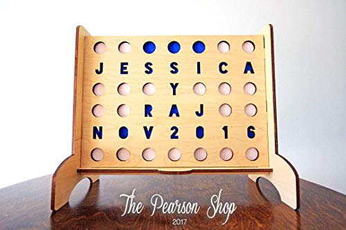 Personalized Connect 4 Circles