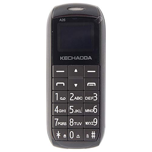 KECHAODA A26 Dual Sim Mobile Phone (Bluetooth Size,Black, 16MB)