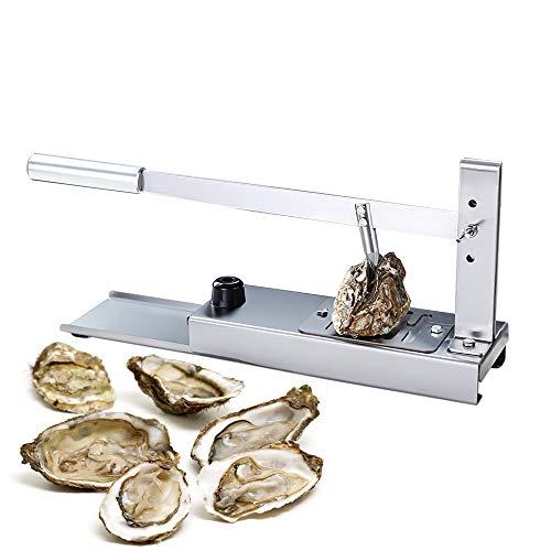 Juego de abridor de ostras Oyster Shucker, herramienta portátil para ostras, abridor de ostras de grado comercial, para el mercado de mariscos restaurante