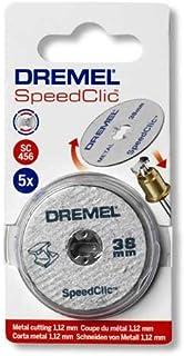 DREMEL SC456 - MP (x5) - Disco de corte para metal Ø 38,0 mm