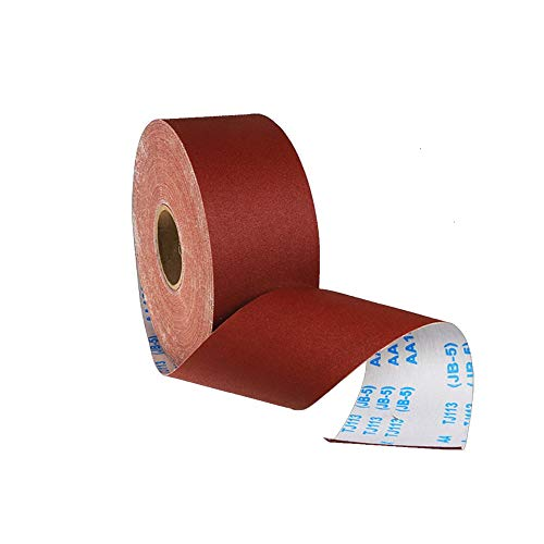 Maso Schmirgelleinen, 1 Meter, Körnung 80–800, Rolle, Schleifmittel, flexibles Schleifband, Polierwerkzeug für konturierte Oberfläche und gebogene Oberfläche