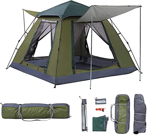 Extra-Large-Family-Tent-10-Person-Pop-Up-Cabin-Tents-Double-Layer-Waterproof-Windproof-Big-Tent-for-Outdoor-Picnic-Camping-Family-Gathering