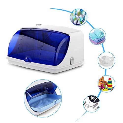 Vogvigo UV Caja de Esterilizador de Gabinete Profesional con Lámpara LED Germicida...