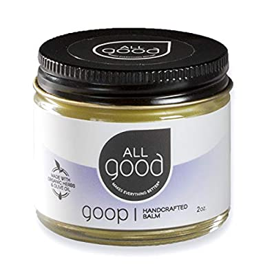 All Good Goop - Organic Skin Relief Balm & Ointment w/Calendula for Dry Skin, Scars, Eczema, Diaper Rash, Bug Bites, Burns, Chapped Lips - Safe for Baby & Sensitive Skin (2 oz)