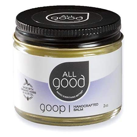 All Good Goop Organic Calendula Ointment - Chafing Cream, Blister Prevention, Dry Skin Relief Salve, Scar Treatment, Chapped Lips (2 oz)