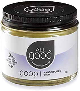 All Good Goop Organic Ointment | Chafing Cream, Blister Prevention, Scar Treatment | Stocking Stuffer Gift for Outdoors En...