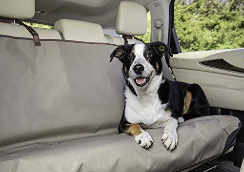 Solvit PetSafe Funda Impermeable para Asiento, Banco, Hamaca, cubeta, Forro de Carga para Coches, todoterrenos y Camiones, Banco, Bronceado, Estándar