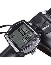 Rsoamy Fietscomputer met bedrade snelheidsmeter, kabelcode tabel, snelheidsmeter, fietsaccessoires, sporttimer, kilometerteller, snelheidsmeter