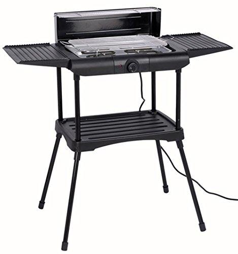 Vetrineinrete Bbq Barbecue elettrico grill 2000 watt griglia elettrica per esterno grigliate in giardino o campeggio P20