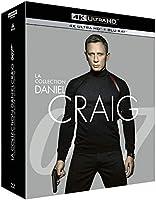 James Bond 007-La Collection Daniel Craig : Casino Royale + Quantum of Solace + Skyfall + Spectre [4K Ultra HD + Blu-Ray]