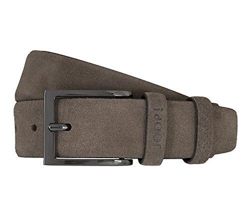 Joop! Gürtel Herrengürtel Ledergürtel Veloursleder Greige/Grau 5910, Länge:115, Farbe:Grau