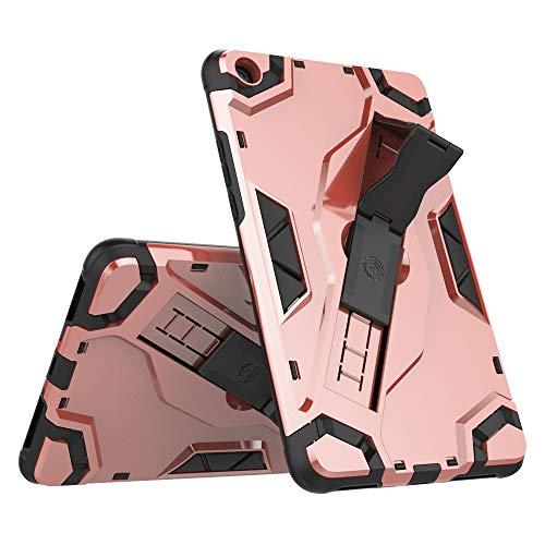 Weichunya Híbrida resistente armadura cubierta de la caja de la tableta a prueba de golpes con Defensor plegable cubierta protectora del soporte correa de mano for Xiaomi Mipad 4 / Mi Pad 4 (8,0 pulga