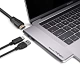 MINIX SD9 Type-c Storage with USB-C hub HDMI 4K@60Hz | Thunderbolt 3 | USB 3.0 for MacBook Pro and MacBook Air Only,Gray,Sold by MINIX Technology Limited.