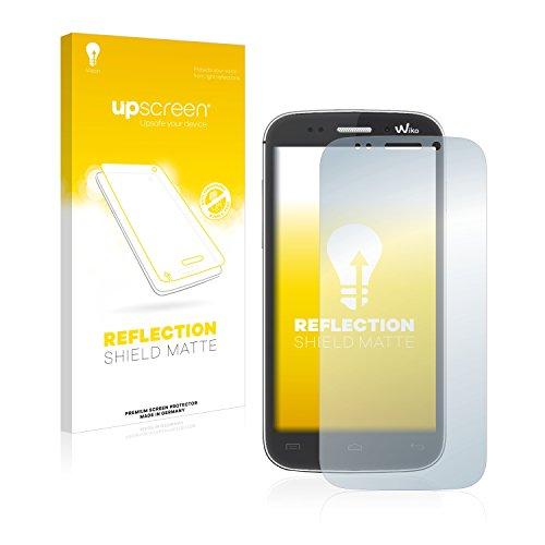 upscreen Entspiegelungs-Schutzfolie kompatibel mit Wiko Stairway – Anti-Reflex Bildschirmschutz-Folie Matt