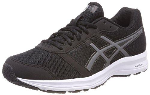 Asics Patriot 9, Zapatillas de Running para Mujer, Negro (Black/Carbon/White 9097), 37.5 EU
