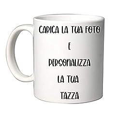 Idea Regalo - Tazza in Ceramica Personalizzabile con Foto e Scritta