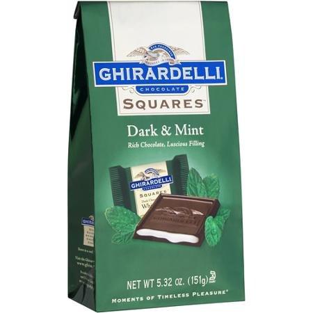 Ghirardelli Dark Chocolate Mint Squares - 6.38oz