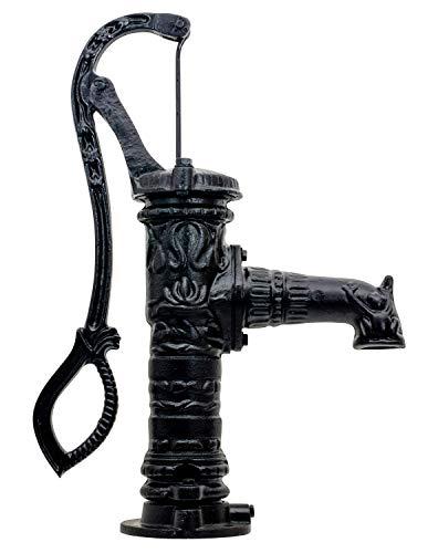 Aubaho Bomba de Mano giratoria de jardín giratoria Manual de Agua Estilo Antiguo a