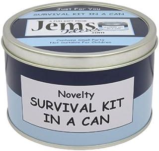 Broma en lata Survival Kit In a Can. Regalo divertido y grac