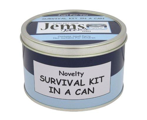 Abuelo cumpleaños Kit de supervivencia en una lata. Novedad Regalo...