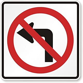 Best no left turn sign Reviews