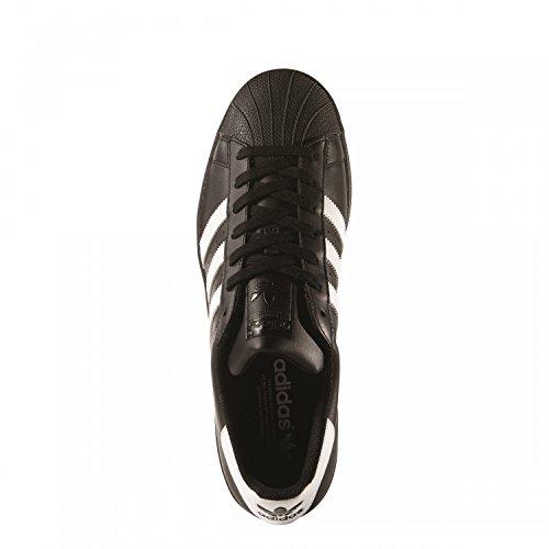 adidas adidas Superstar Foundation, Schwarz (Core Black/Ftwr White/Core Black), 47.5 EU