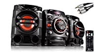Powerful sound: Strong scintillating sound, high quality audio components produce awesome sound which can be adapted through various pre-set sound modes Automatically mix music: Ideal for parties, auto DJ seamlessly blends each song into the next fro...