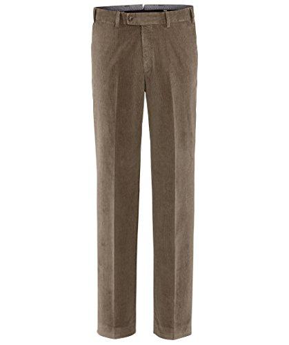 Hiltl Herren Straight Leg Hose Parma, Braun (Muskat 36), 25 (Herstellergröße: 46C)