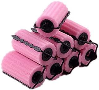 8pcs Hair Care Roller Style Sponge Does Not Hurt Hair Curler, Hair Rollers Rolls Styling Curler Tools Foam Self Lock Holder Bun, Easy DIY Natural Way Curly