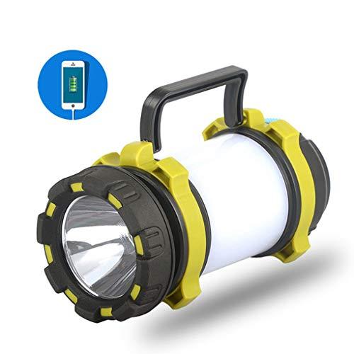 HWHS219 Led-zaklamp, multifunctioneel, batterij-indicator, waterdicht, zaklamp, USB opladen, noodlicht, powerbank, te voet, draagbaar, kampvuur