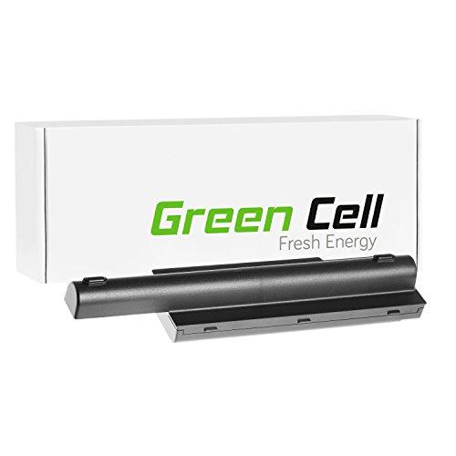 Green Cell® Extended Serie Laptop Akku für eMachines E510 E520 E720 G420 G520 G620 G720 (12 Zellen 8800mAh 10.8V Schwarz)