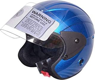 TRYFLY All Purpose Safety Helmet with Strap(NENO BLUE Free Size)