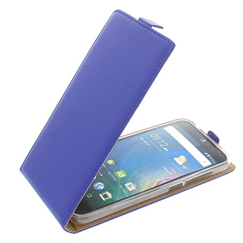 foto-kontor Tasche für Acer Liquid Z630 Liquid Z630S Liquid M630 Smartphone Flipstyle Schutz Hülle blau
