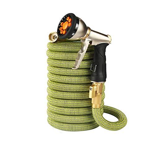 25 – 100 m, flexibel, rekbaar, voor tuin, tuin, tuin, slang van rubber, licht, autowasgoed, slang voor de tuin.