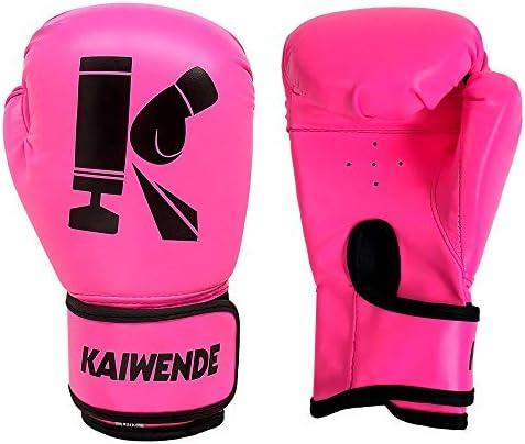 KAIWENDE Kids Boxing Gloves Children Or Youth Punching Bag Muay Thai Kickboxing Training Gloves product image