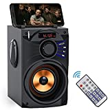 Portable Bluetooth Speaker with Subwoofer...