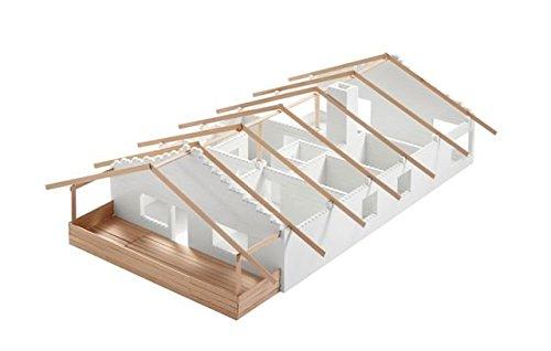 metakreon Bausteine für 180 qm Haus, Modellbausteine Architekten Bauwerke Anbau Gartenbahn
