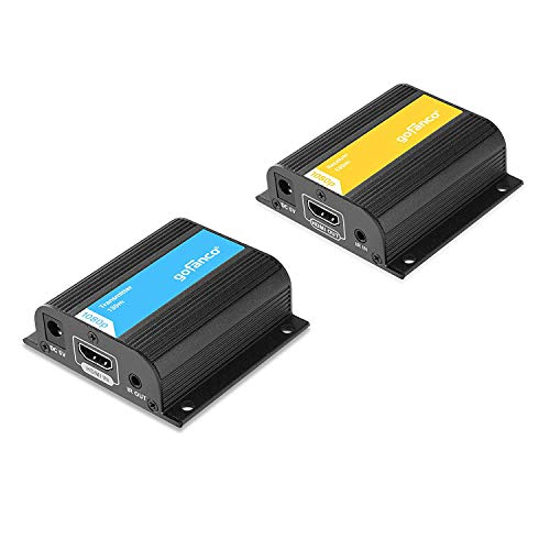 gofanco 426ft HDMI Extender 1080p Over a Single CAT5e/CAT6/CAT7 Ethernet Cable