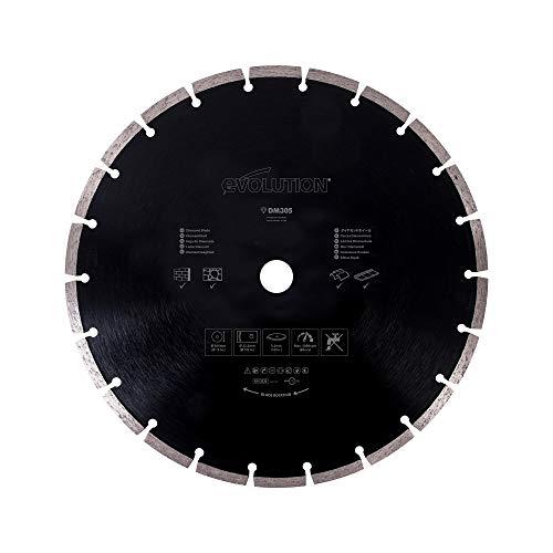 Evolution Power Tools RAGEBLADE305DIAMOND Diamant-Trennscheibe, 305 mm